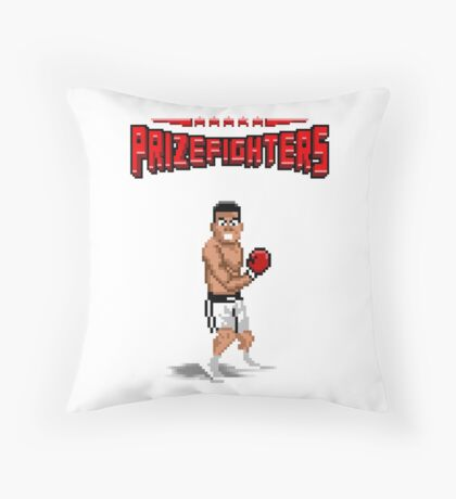 Prizefighters Logo and Icon Floor Pillow