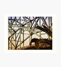 The Bridge Looks Like A Rollercoaster Art Print