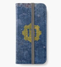Vault 111 - Distressed iPhone Wallet/Case/Skin