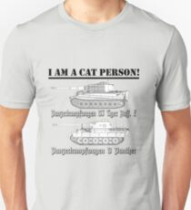 I Am A Cat Person (TANKS) Unisex T-Shirt