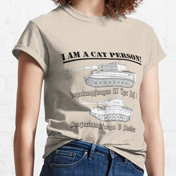 I Am A Cat Person (TANKS) Classic T-Shirt