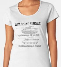 I Am A Cat Person (TANKS) Women's Premium T-Shirt