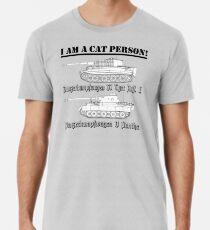 Ich bin eine Katze Person (TANKS) Premium T-Shirt