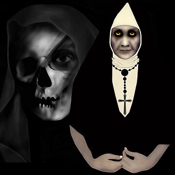 Satanic Nun by BURPdesigns
