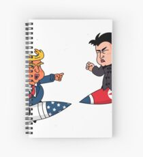 Trump VS Kim Spiral Notebook