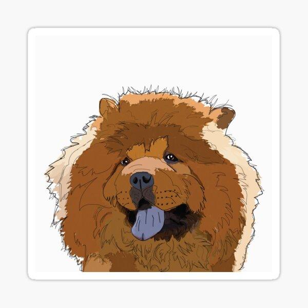 Chow Chow Dog Sticker