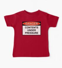 Danger - Contents Under Pressure Kids Clothes