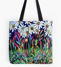 Behind the Blooms Tote Bag