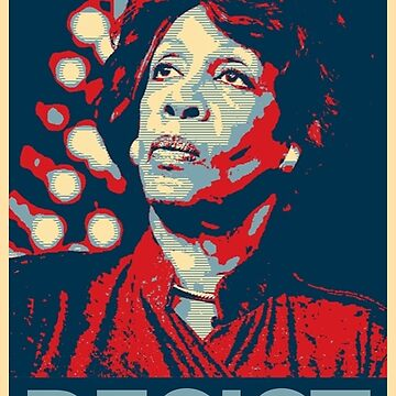 I Stand with Maxine Waters by Thelittlelord