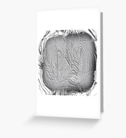 Scratching the Surface Greeting Card
