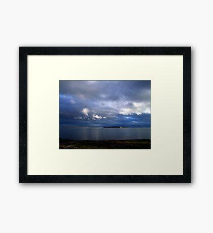Evening Light Framed Print
