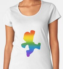 Mario Pride Women's Premium T-Shirt