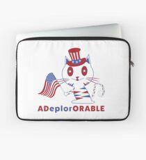 Adorable Deplorable Patriotic Kitten Laptop Sleeve