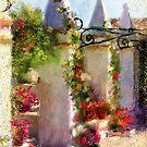 Columns At Corfu by Lois  Bryan
