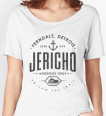 Detroit Become Human - Jericho - Kara, Markus and Conner Women's Relaxed Fit T-Shirt