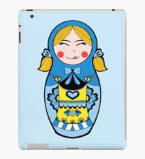 Matryoshka - Swedish Girl iPad Case/Skin