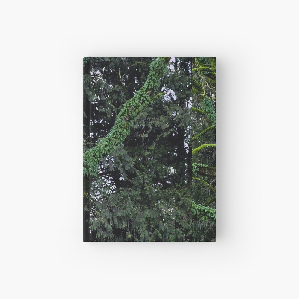 Mossy Tree Hardcover Journal