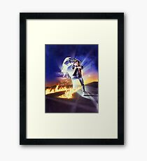 Back to the Future Marty! Framed Print