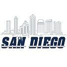 San Diego California by fantedesign