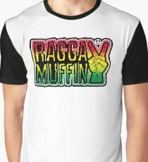 Ragga-Muffin Grafik T-Shirt