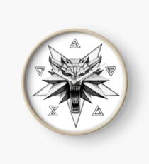 Reloj The Witcher - Señales de logotipo