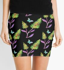 Dream Flowers Mini Skirt