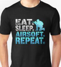 Eat Sleep Airsoft Repeat Unisex T-Shirt