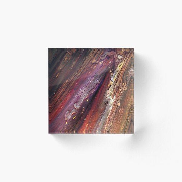 Flare Acrylic Block