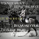 Its not about being the best- Dressage Dreamers by DressageDreams