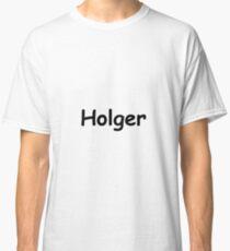 Font Name Holger Classic T-Shirt