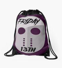 Friday 13TH Jason Mask Halloween Drawstring Bag