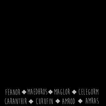 Feanor & 7 sons  by Kamikazekatze