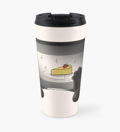 Right Cake, Wrong Time, Wrong Place Travel Mug