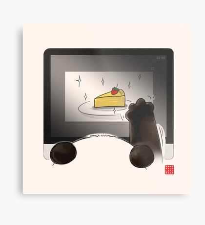 Right Cake, Wrong Time, Wrong Place Metal Print