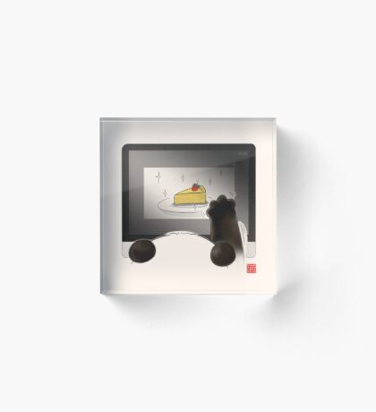 Right Cake, Wrong Time, Wrong Place Acrylic Block