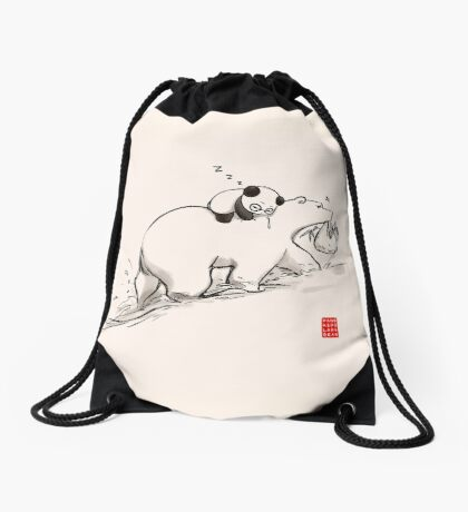 Are we bearly there yet? Drawstring Bag
