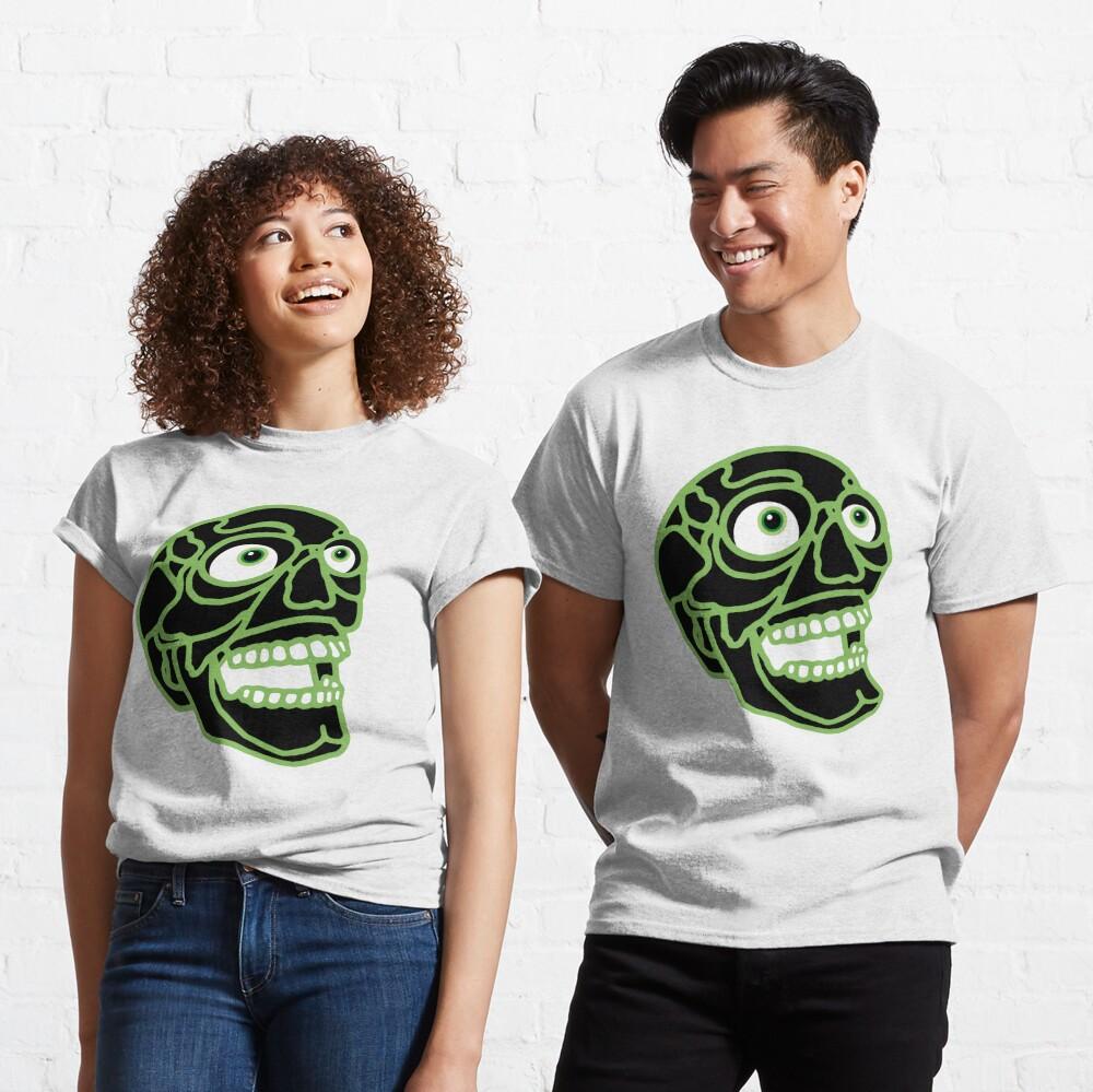 Skull (black) Classic T-Shirt