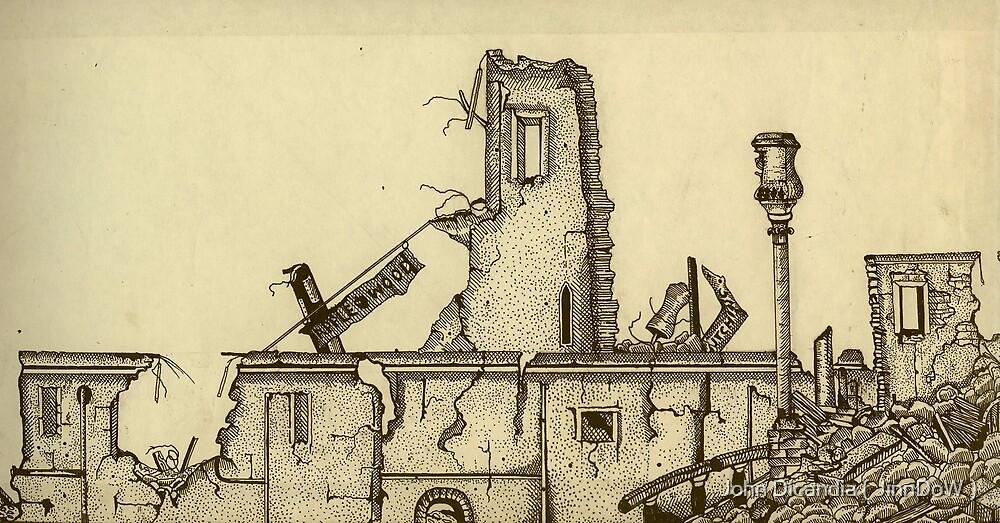 Earthquake Aftermath ( circa 1980 ) by John Dicandia ( JinnDoW )