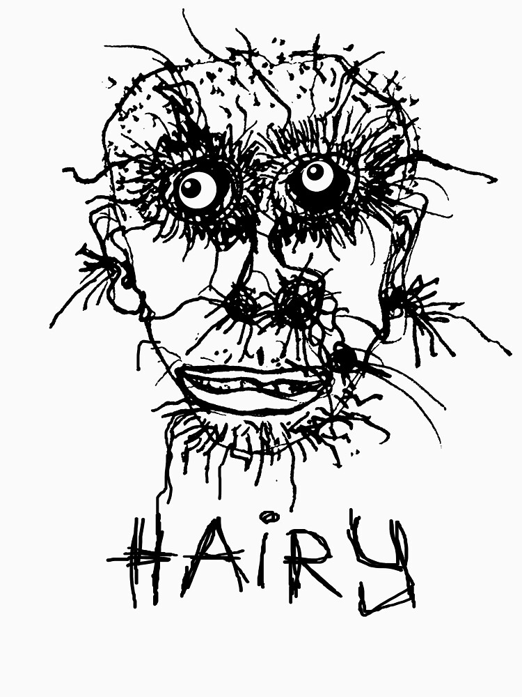 Hairy by tierneyart