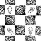 Hairy Checkers by serenekitchen