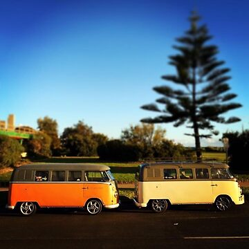 Elwood Kombi II - Coastal Collection by Josh76