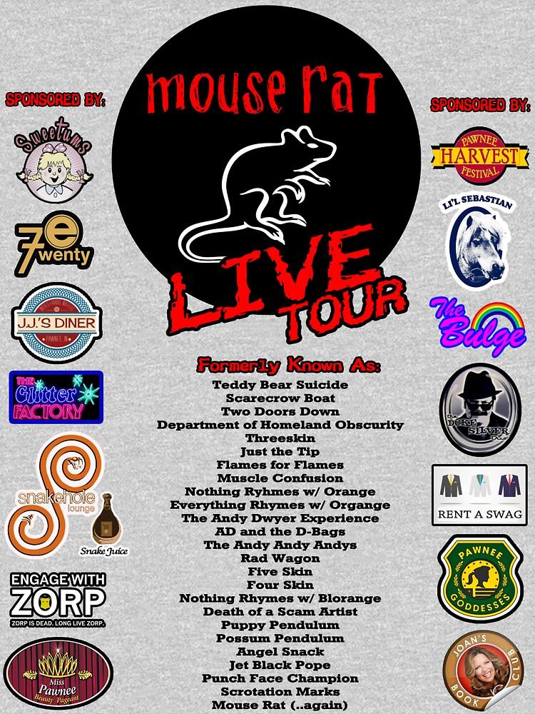 Mouse Rat Live Tour Edition | Unisex T-Shirt