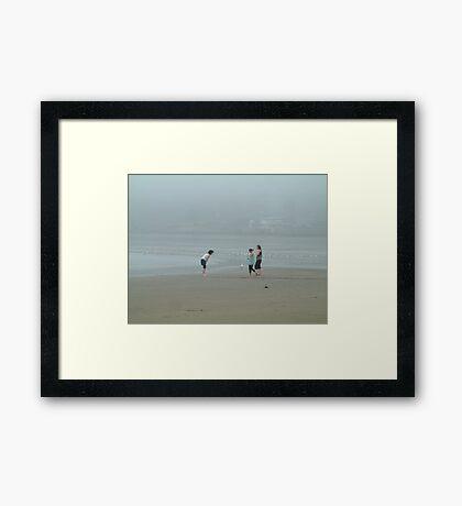 Near Deserted Framed Print