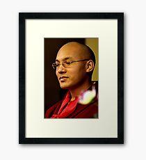 His Holiness 17th Karmapa | Orgyen Trinlay Dorje  Framed Print