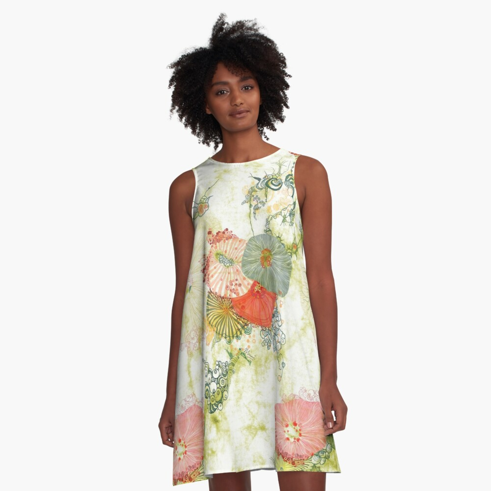 Dress Designed by Mimi Pinto available at Redbubble