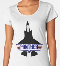 F-35 Lighting II (Panther) Joint Strike Fighter (JSF) Women's Premium T-Shirt