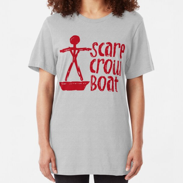 Scarecrow Boat Bachalor Party Edition Slim Fit T-Shirt