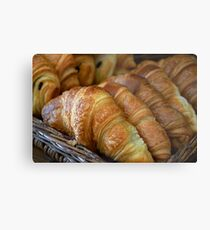 Croissants Metal Print
