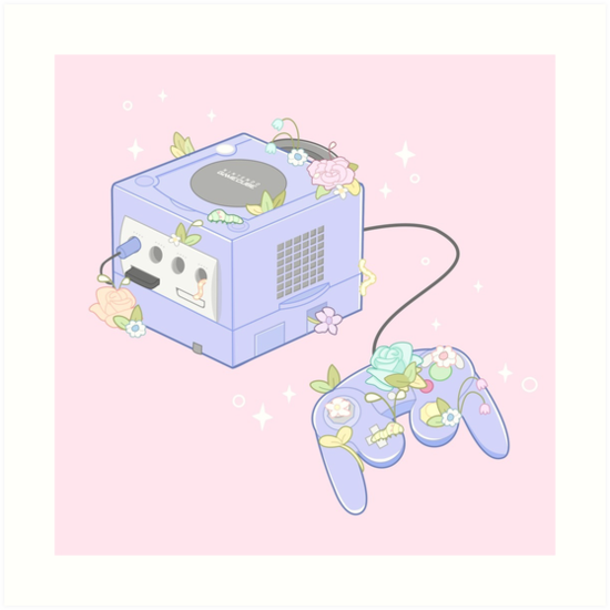 Pastell-Gamecube von BeeReckless