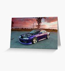 Turbo S14 Nissan Greeting Card